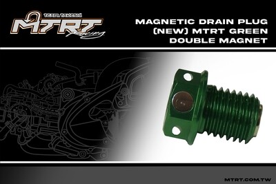 DOUBLE MAGNETIC DRAIN SCREW GREEN MIO MTRT
