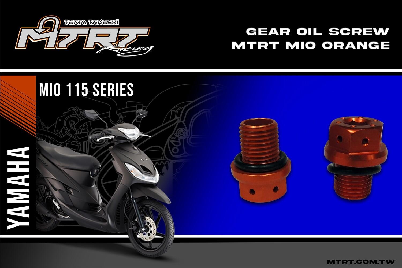 GEAR OIL SCREW MTRT MIO orange