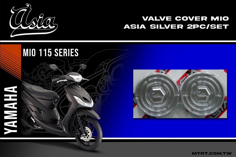VALVE COVER MIO ASIA  SILVER  2pc-set