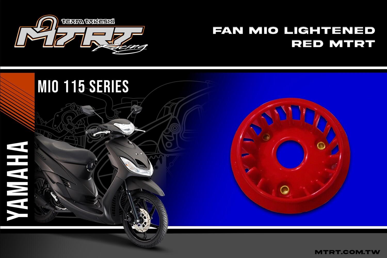 FAN  MIO Lightened Red MTRT