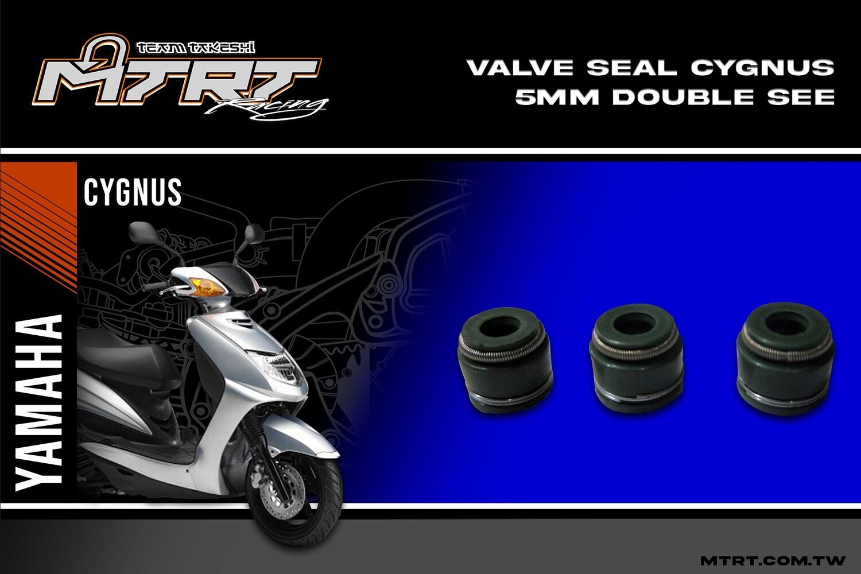VALVE SEAL CYGNUS 5MM double   SEE