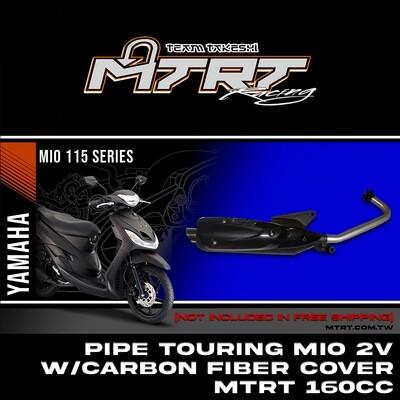 PIPE TOURING MIO 2V w/carbon fiber cover  MTRT160Cc Main CC-4