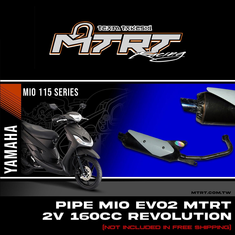 PIPE MIO EVO2 MTRT 2V 160cc Revolution