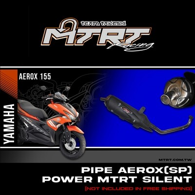 PIPE AEROX  SP POWER MTRT SILENT