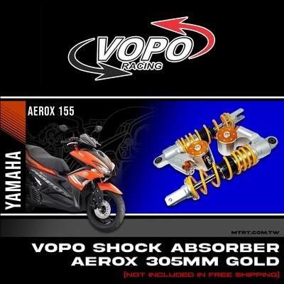 VOPO SHOCK AEROX155  YELLOW 305MM