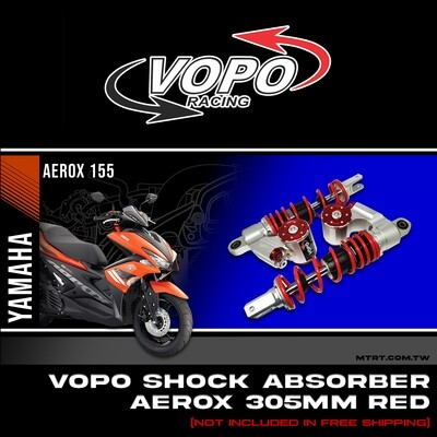 VOPO SHOCK AEROX155  RED 305MM