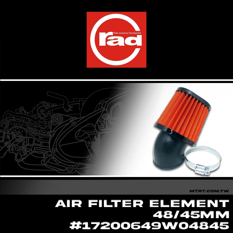 AIR FILTER ELEMENT 48x45mm 17200649W04845 Oval RAD