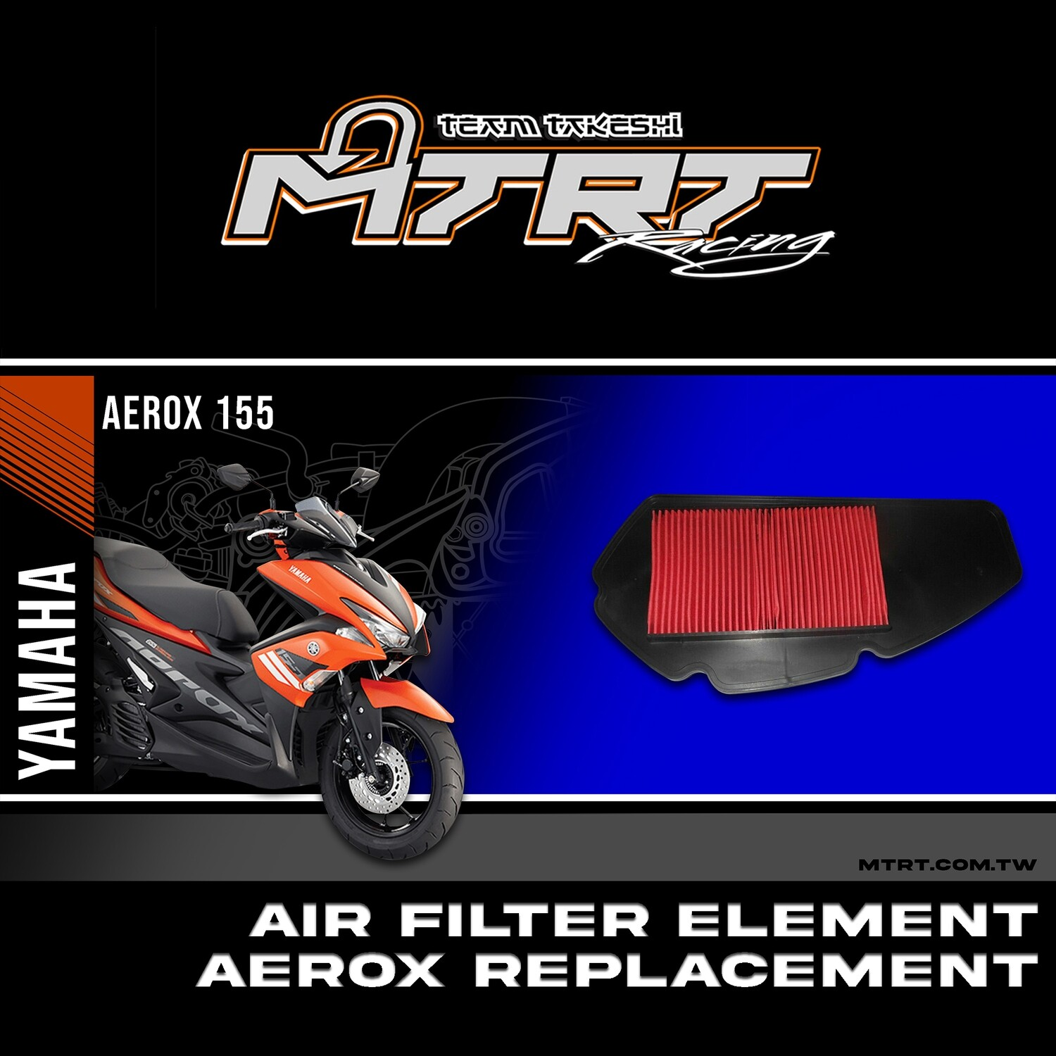 AIR FILTER ELEMENT for AEROX
