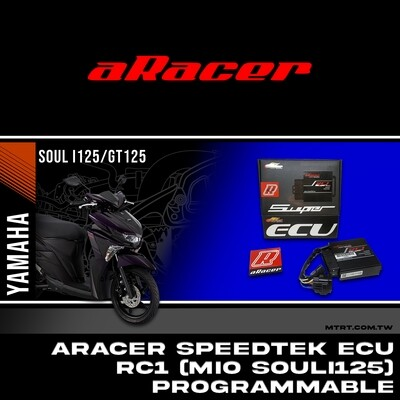ARACER SPEEDTEK ECU RC1 SUPER PROGRAMMABLE MIO SOULi125