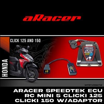 ARACER speedtek ECU RC Mini 5  CLICKi125CLICKi150 with ADAPTOR