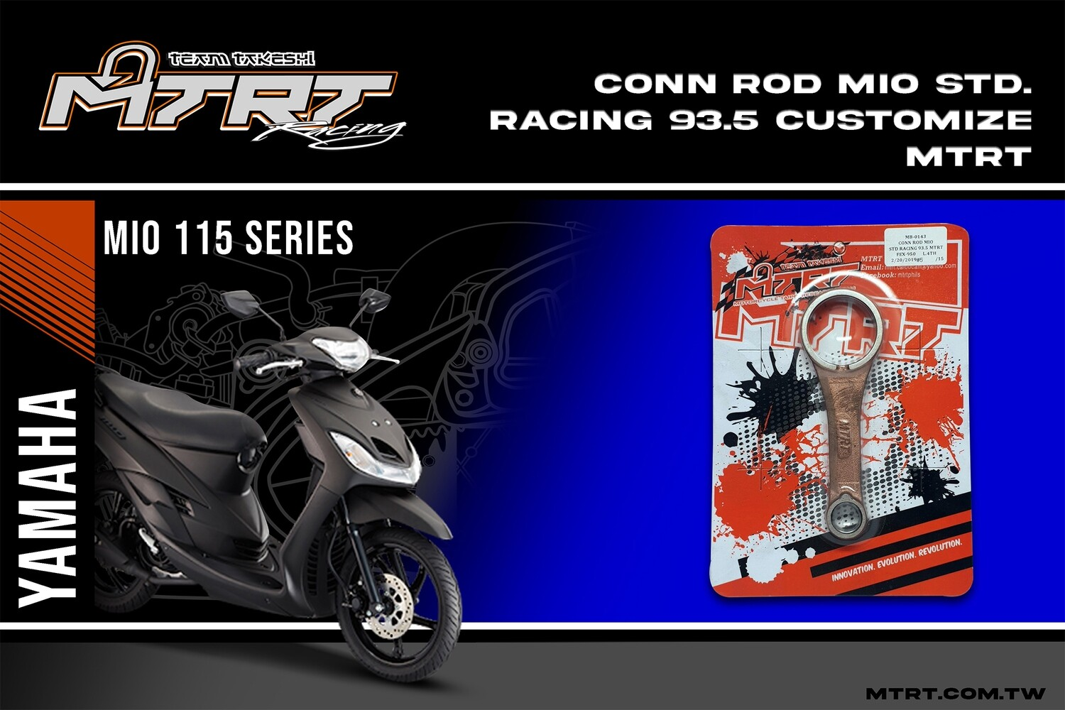 CONN ROD Standard Racing 93.5 customize