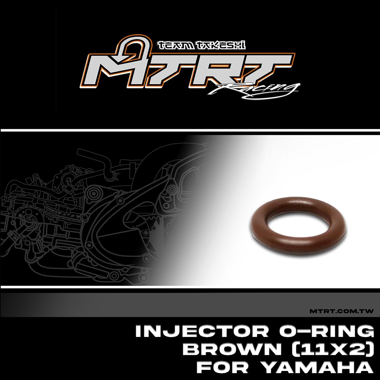 INJECTOR O-RING Brown (11x2) For YAMAHA