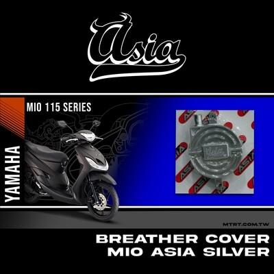 BREATHER COVER SILVER MIO ASIA