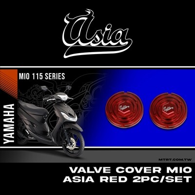 VALVE COVER RED MIO ASIA