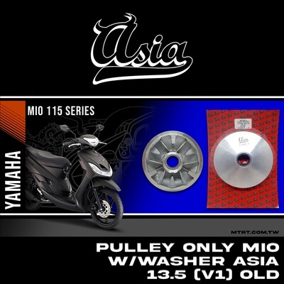 PULLEY ONLY with washer 13.5 V1
