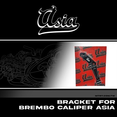 BRACKET FOR BREMBO CALIPER ASIA XMAX