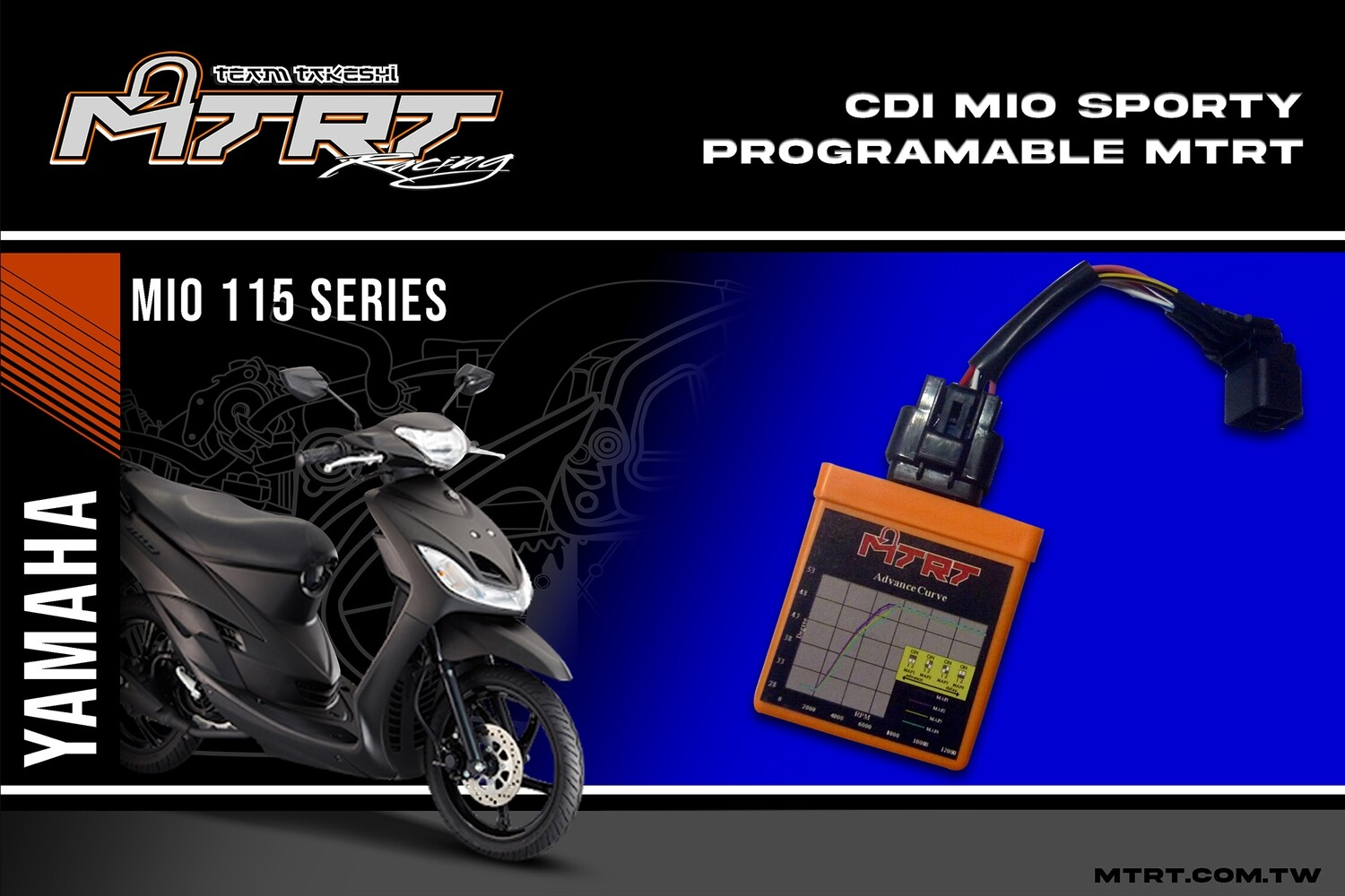 CDI MIO Sporty Programable MTRT