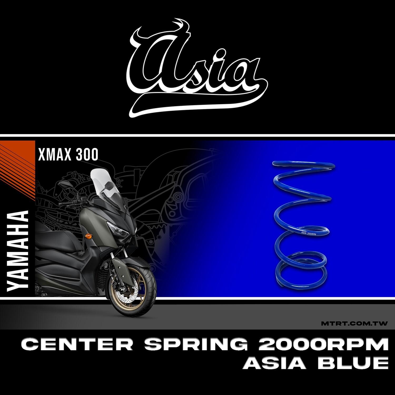 CENTER SPRING XMAX300 2000RPM  ASIA BLUE