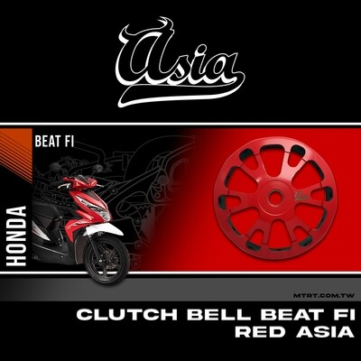 CLUTCH BELL BEAT Fi RED ASIA
