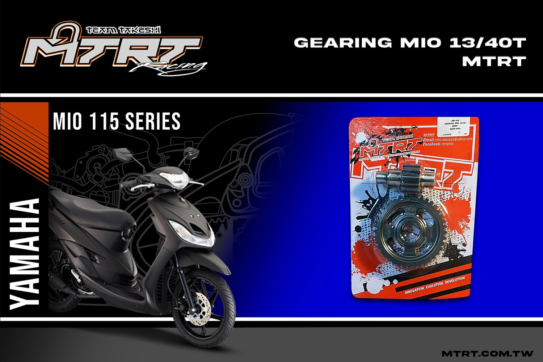 GEARING  MIO  13-40T   MTRT