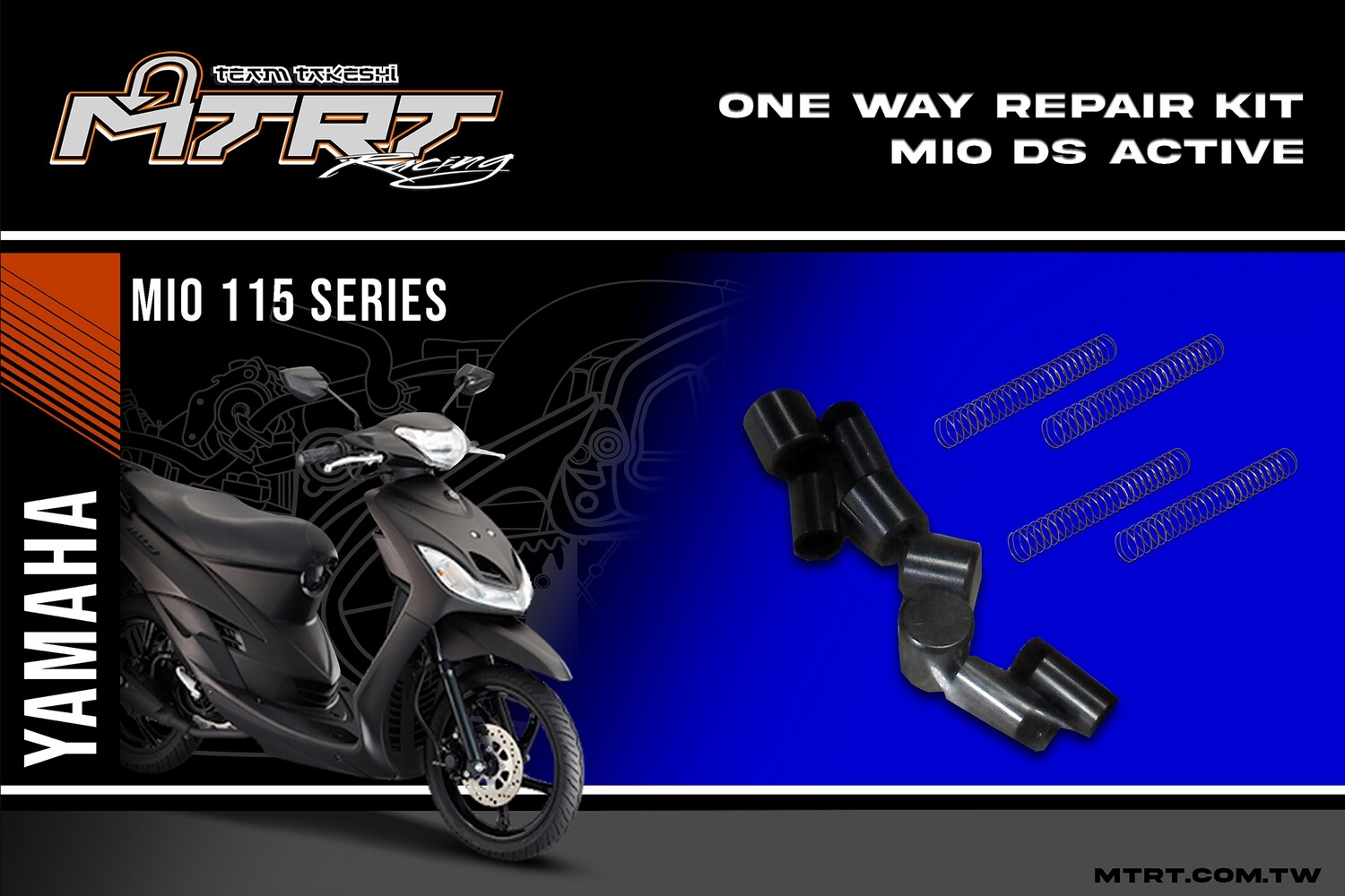 ONE WAY REPAIR KIT MIO DS