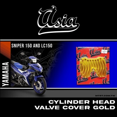 CYLINDER HEAD VALVE COVER GOLD