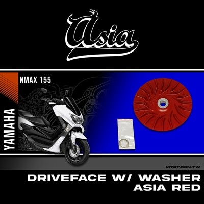 DRIVE FACE WITH WASHER NMAX155 ASIA RED