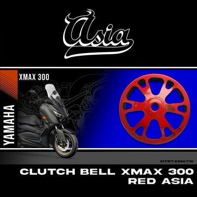 CLUTCH BELL XMAX300 RED ASIA