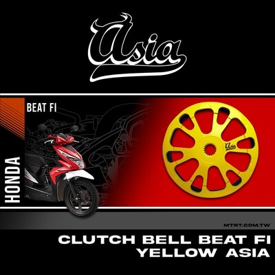 CLUTCH BELL BEAT Fi YELLOW ASIA