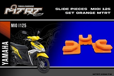 SLIDE PIECES  MIOi125 Set  ORANGE MTRT