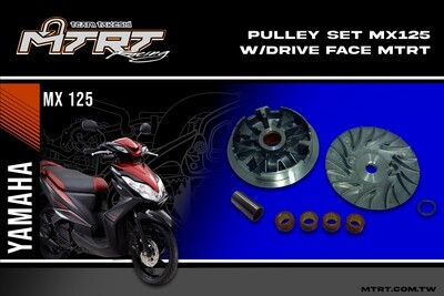 PULLEY SET MX125 MIO5 drive face MTRT