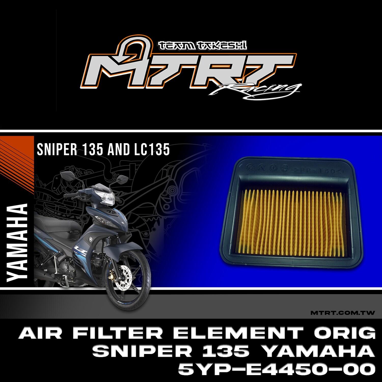AIR FILTER ELEMENT Original. SNIPER 135 YAMAHA 5YP-E4450-00