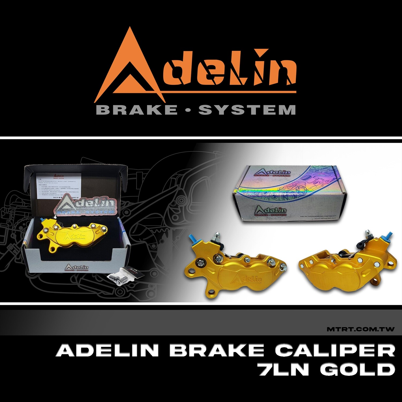 ADELIN BRAKE CALIPER 7LN GOLD