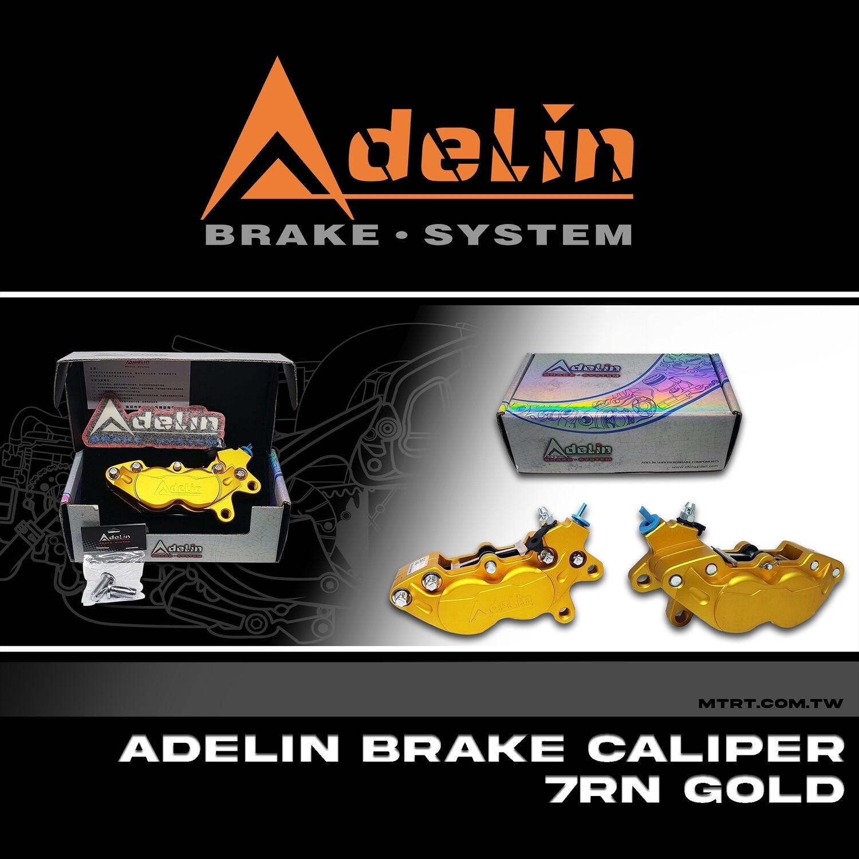 ADELIN BRAKE CALIPER 7RN GOLD