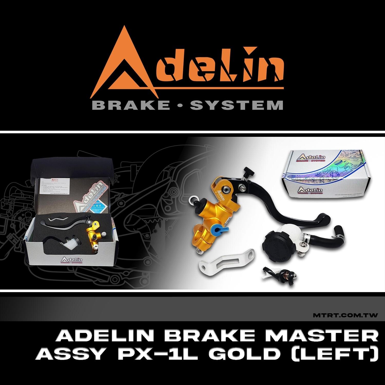 ADELIN BRAKE MASTER ASSY. PX-1L GOLD (LEFT)