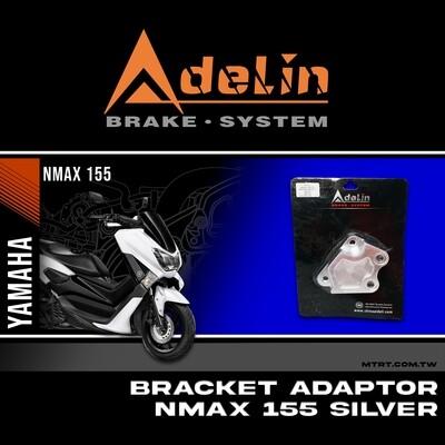 ADELIN CALIPER BRACKET NMAX155 SILVER