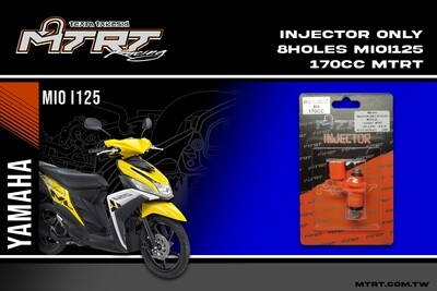 INJECTOR ONLY 8HOLES  MIOi125  170CC MTRT