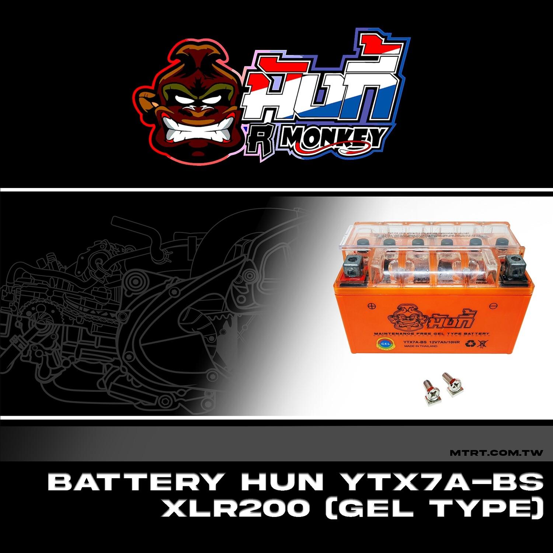 BATTERY YTX7A-BS XLR200