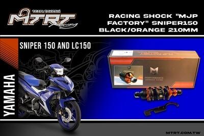 RACING SHOCK MJP Factory SNIPER150 Black Orange 210MM