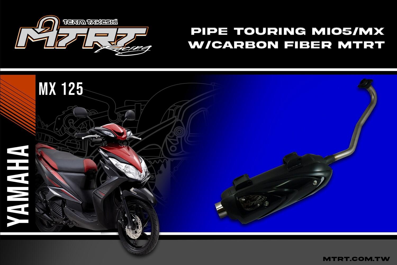PIPE TOURING MIO5MX  carbon fiber  MTRT