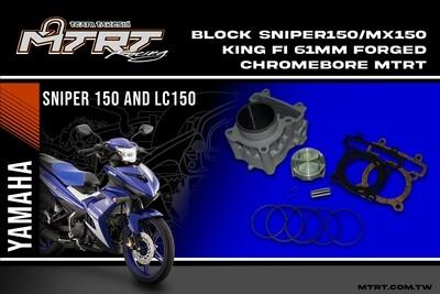 61MM BLOCK SNIPER150 MX150 King Fi 61mm FORGED Chromebore  MTRT