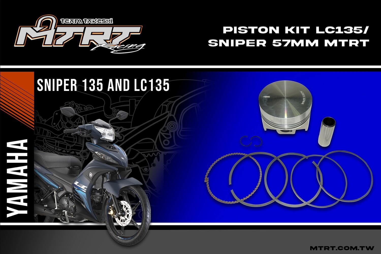 PISTON KIT  LC135/SNIPER 57mm MTRT