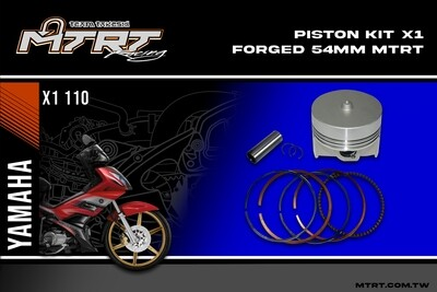 PISTON  KIT  X1 FORGED  54MM MTRT