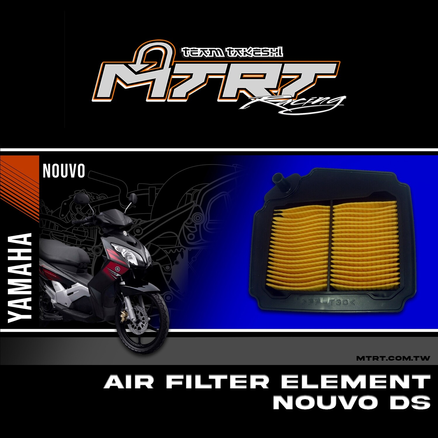 AIR FILTER ELEMENT  NOUVO DS