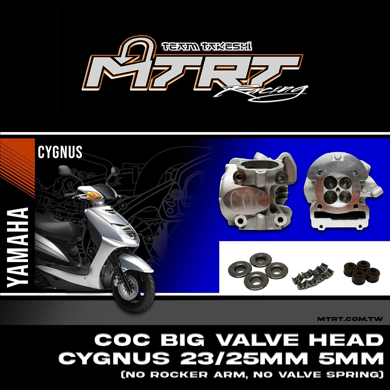 COC BIG VALVE HEAD Cygnus 23-25mm 5MM (no rackerarm,no valvespring)