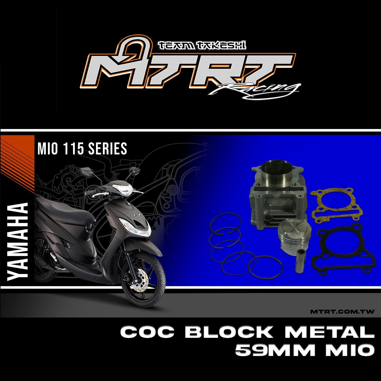 "BLOCK METAL 59MM MIO ""COC"""