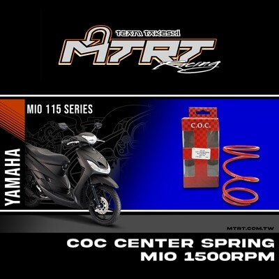 CENTER SPRING 1500RPM RED MIO