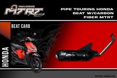 PIPE TOURING HONDA BEAT carbon fiber