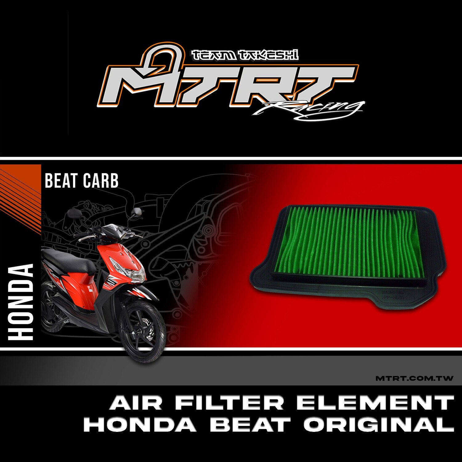 AIR FILTER ELEMENT HONDA BEAT Original
