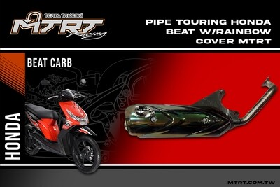 PIPE TOURING HONDA BEAT wrainbow cover